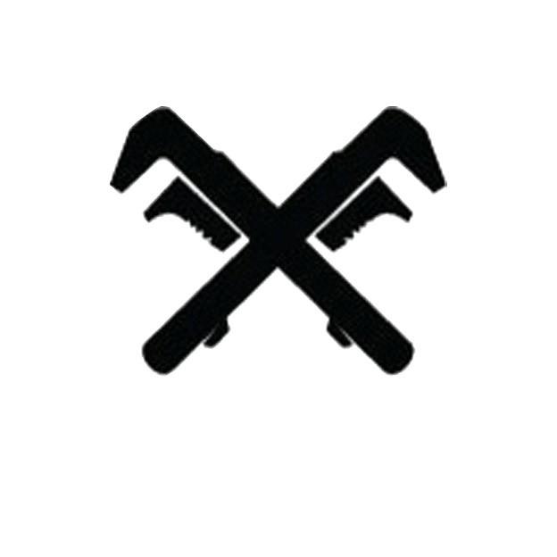 monkey wrench logo. join the monkey wrench gang logo