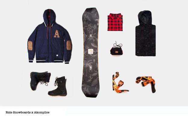 Ride Snowboards x Akomplice