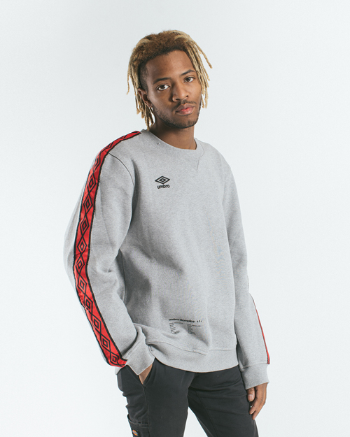 AK X UMBRO Fear Love Fleece Crewneck
