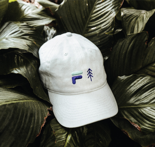 AK + FILA Tree Dad Hat 3