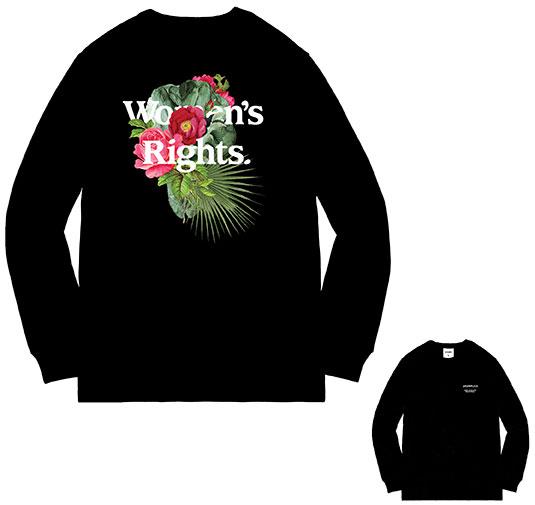 Women's Rights LS Tee