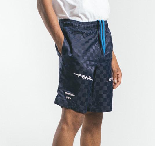 AK X UMBRO Fear Love Checkerboard Shorts 3