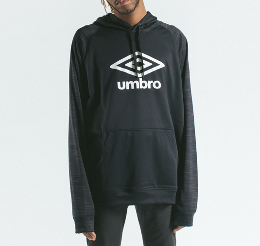 AK X UMBRO Transformation Tech Fleece Hoodie 4