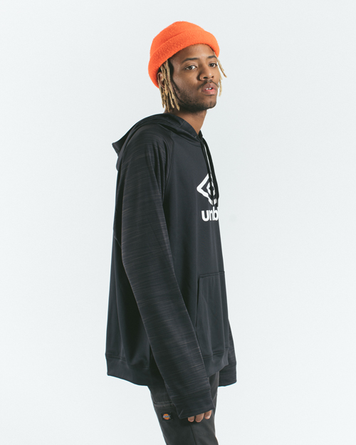 AK X UMBRO Transformation Tech Fleece Hoodie 1
