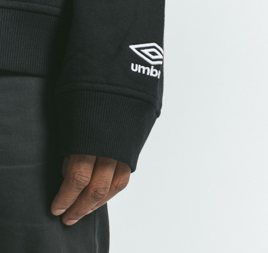 AK X UMBRO Fear Love Sueded Fleece Crewneck 12