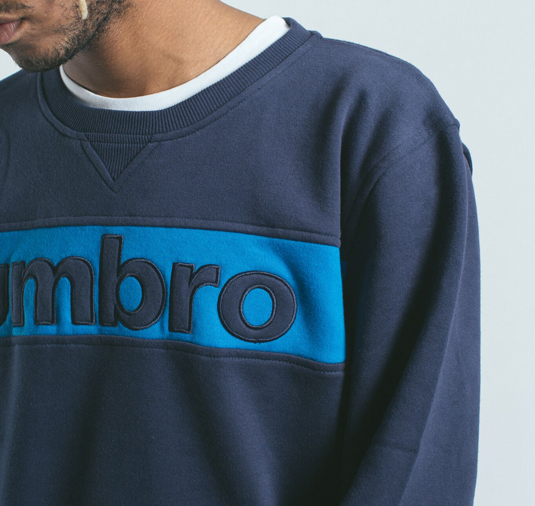 AK X UMBRO Fear Love Sueded Fleece Crewneck 9
