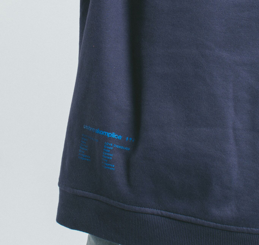 AK X UMBRO Fear Love Sueded Fleece Crewneck 11