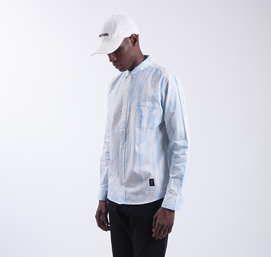 Louvre LS Button Up