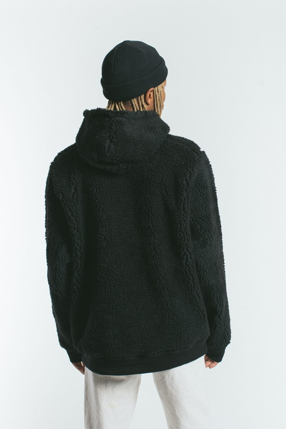 Shearling Hooded