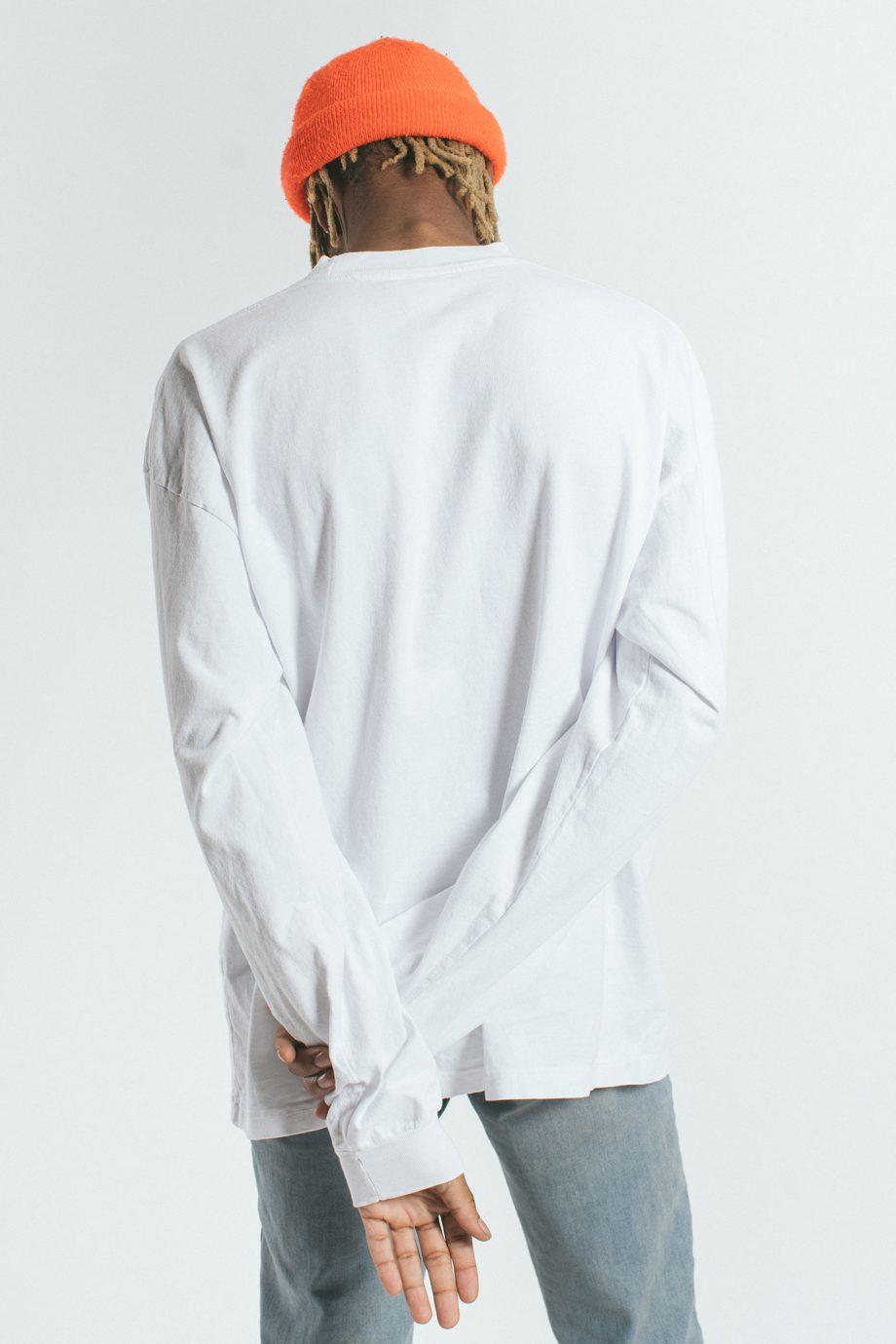 USA Mock-Neck LS Shirt