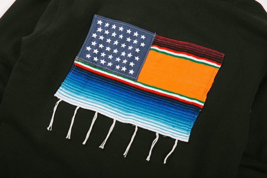 Mi Bandera Patch Hoodie