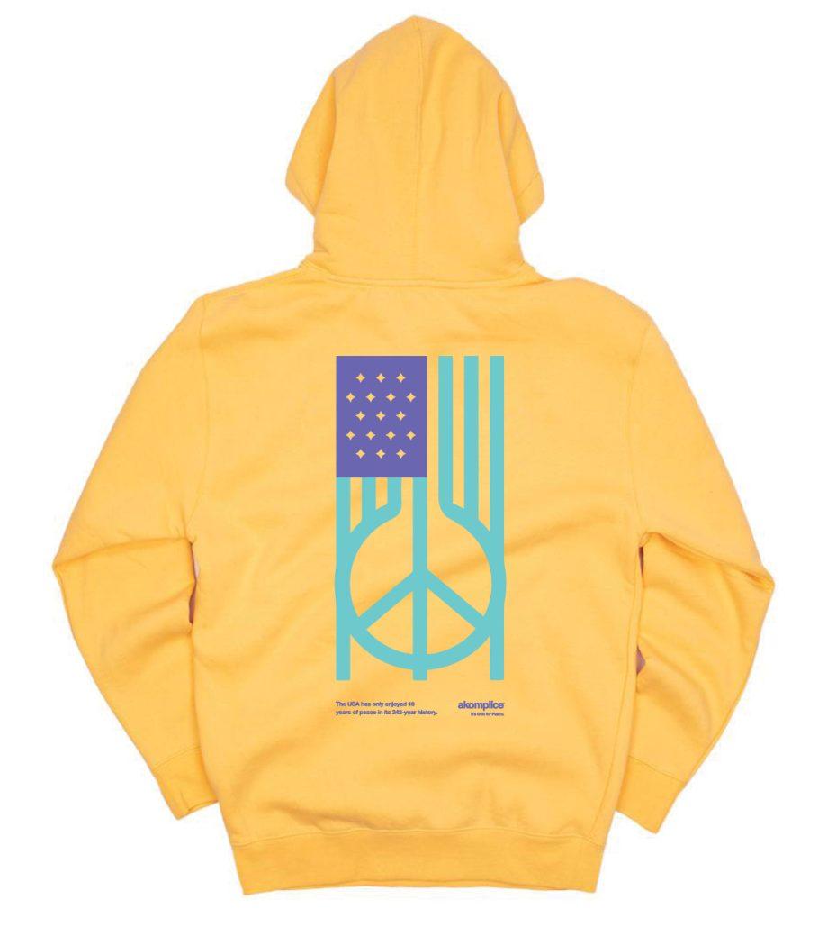 US Peace Hoodie