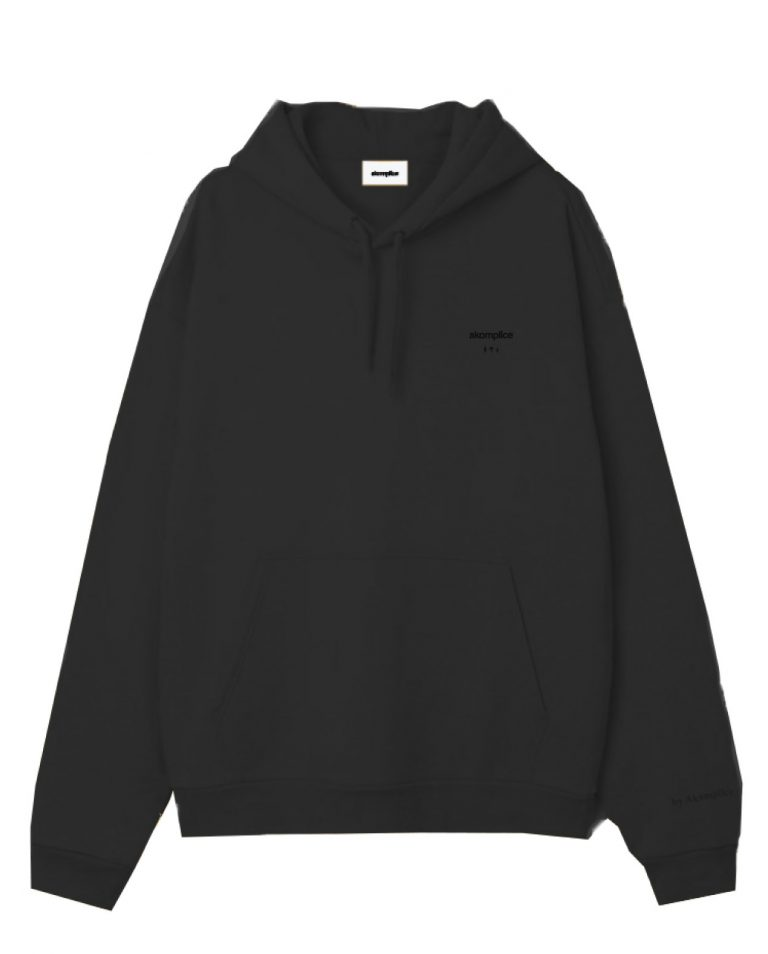 Embroidered Basic Hoodie