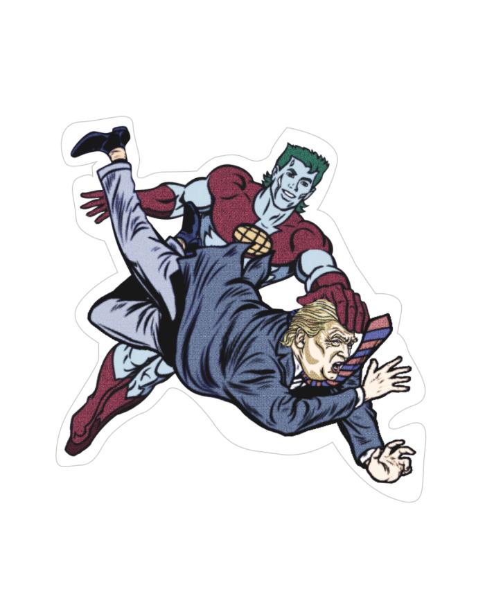 Captain Planet Sticker