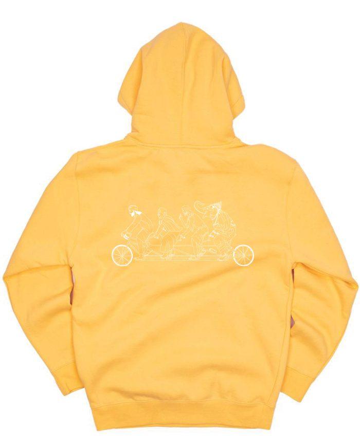 Unity Gang Embroidered Fleece Hoodie