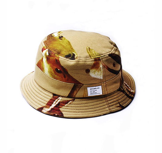 Deer Head Bucket Hat