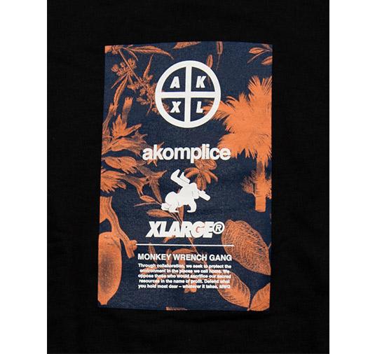 X-Large x AK MWG Plant Box Logo Tee