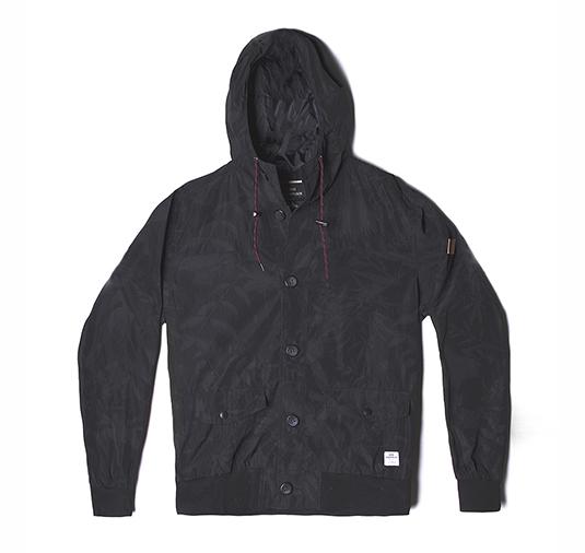 AK x Ride – Black Floral Weather Proof Jacket