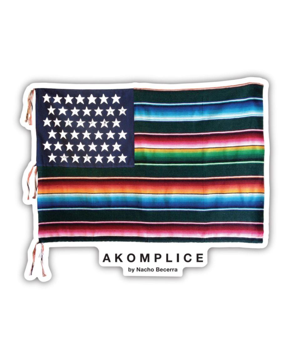 Mi Bandera Sticker