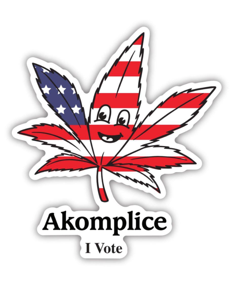 Legalize It Sticker
