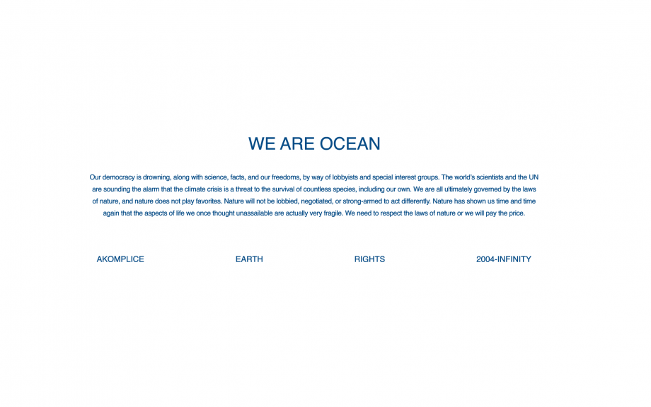 We Are Ocean SS