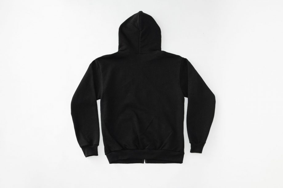 AK Embroidery Zip-Up Hoodie