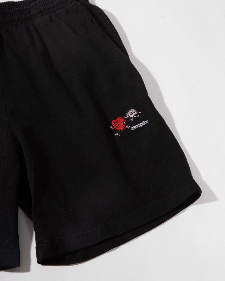 Follow Your Heart EMB Sweat Shorts