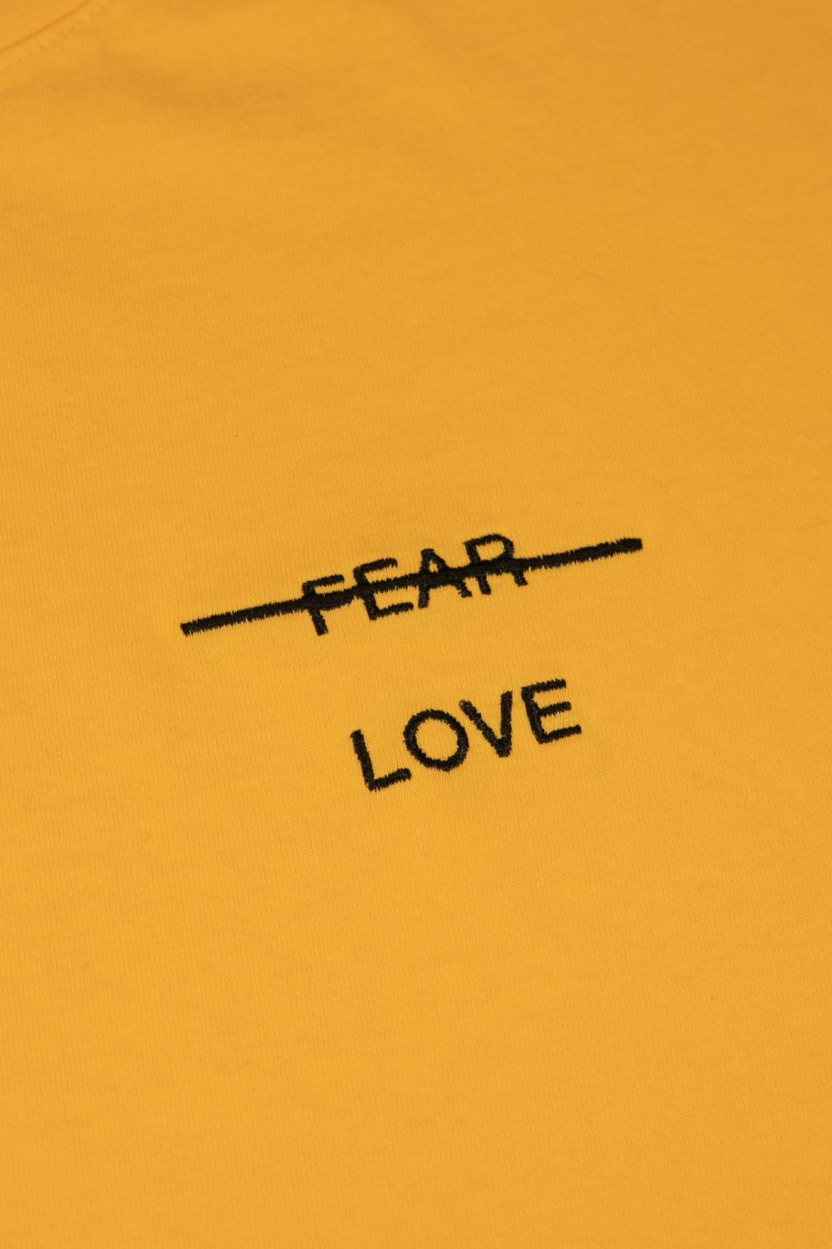 Love over Fear Emb. LS