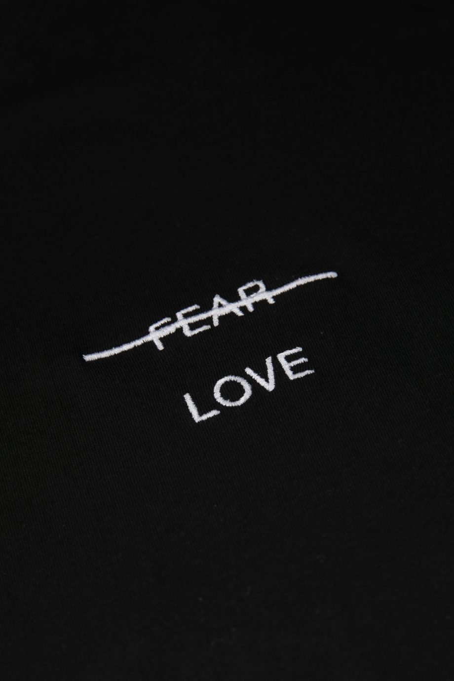 Love over fear Emb. SS