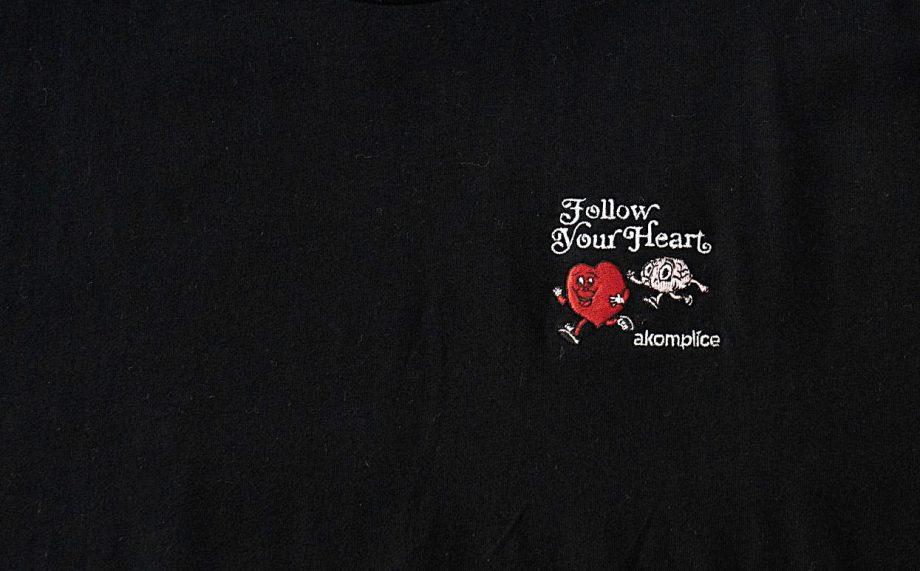 Follow Your Heart Emb Hoodie