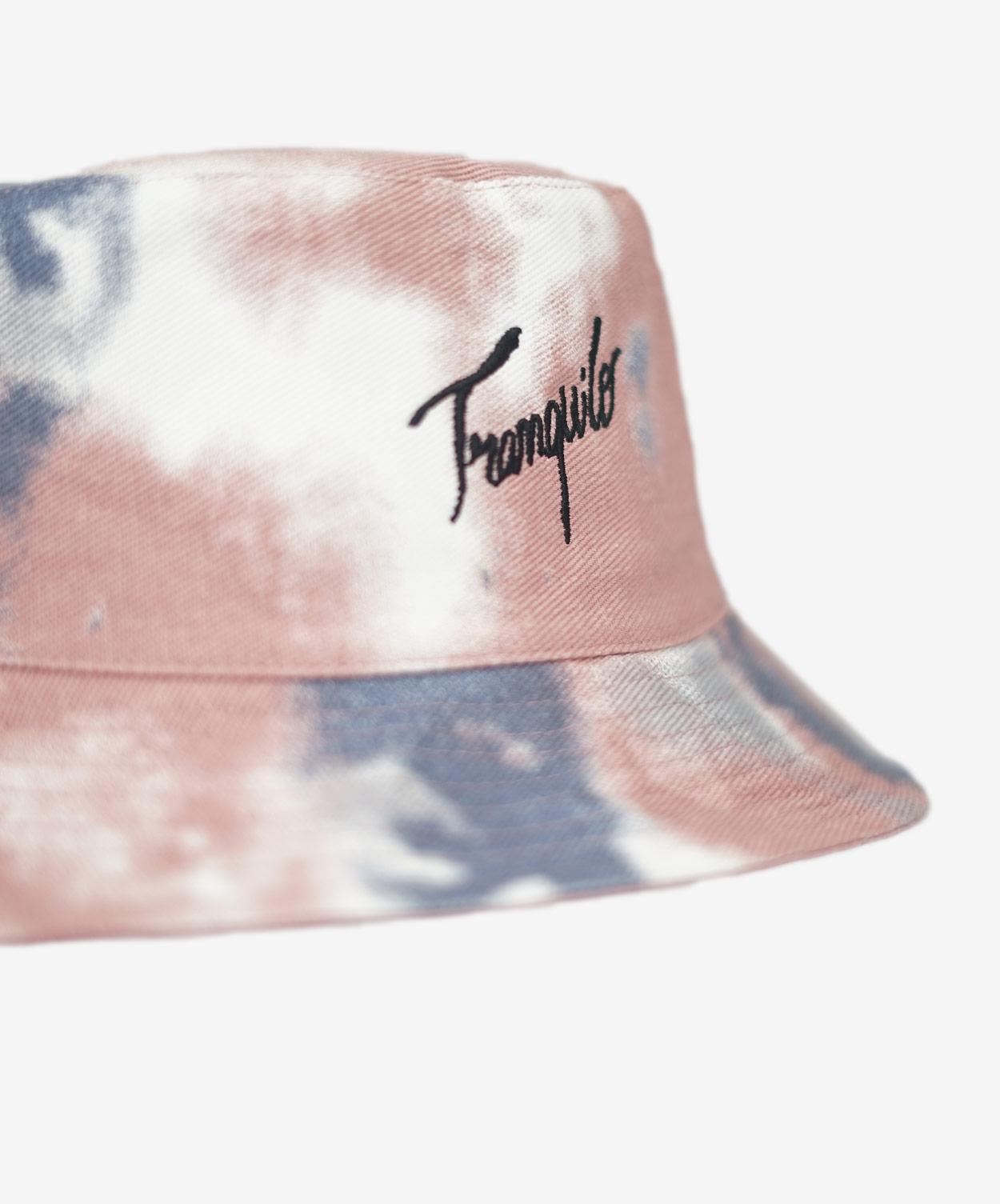 TranquiloBucketHat-PinkTie-Dye