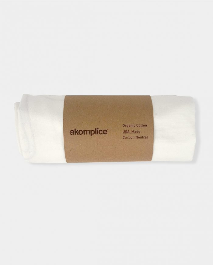 Akomplice Blank Roll-Up SS Tee