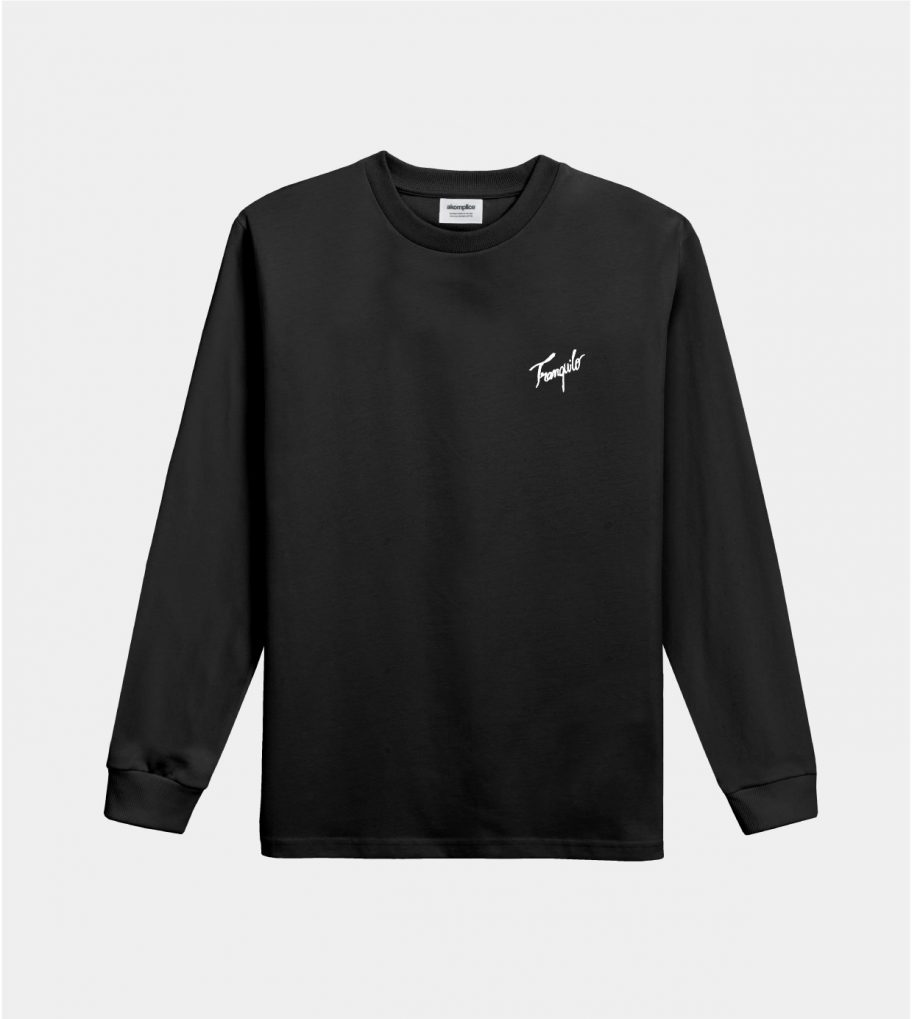 Tranquilo Embroidered LS Tee