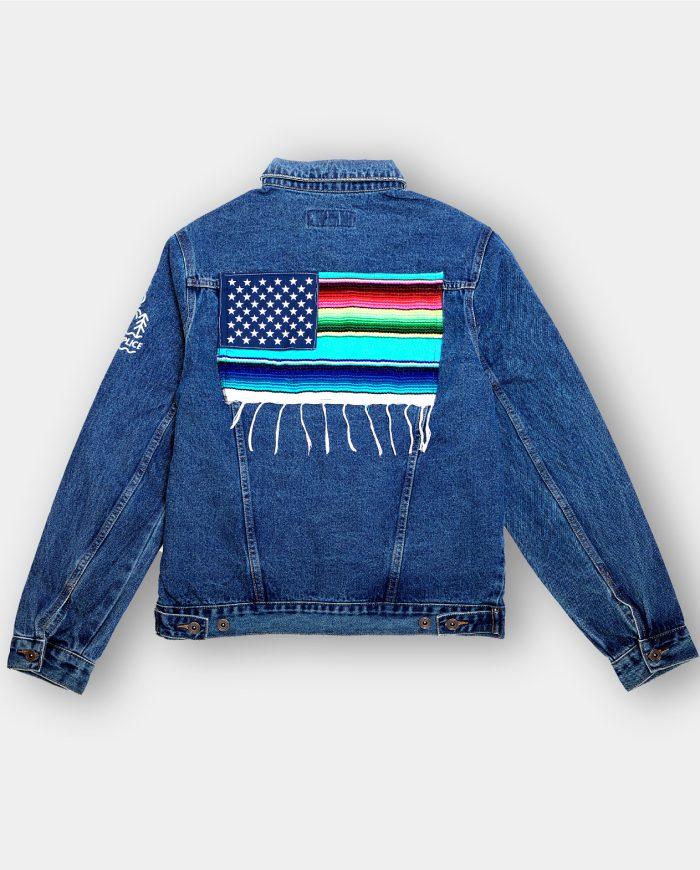 Mi Bandera Jean Jacket